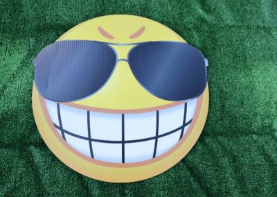 G-272 Big Teeth Glasses Smile Emoji Lg
