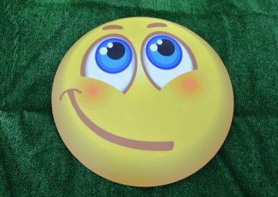 G-274 Closed mouth Slant Smile Emoji Lg