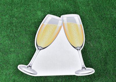 G-342 Champagne Glasses