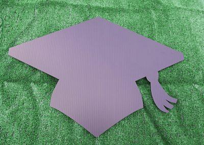 G-421 Basic Grad Hat Black