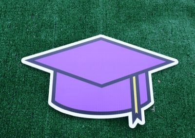 G-430 Purple Grad Cap
