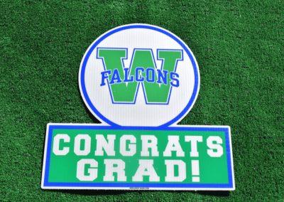 G-441 Woodinville Falcons Congrats Grad