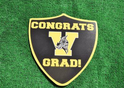 G-442 Inglemoor Congrats Grad Shield
