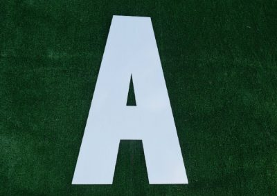 L-16 White Letters