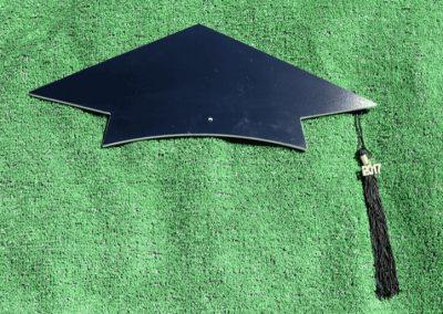 T-9 Black Grad Hat