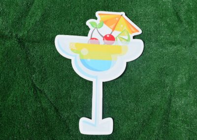 G-1 Margarita Tropical Drink Yard Sign