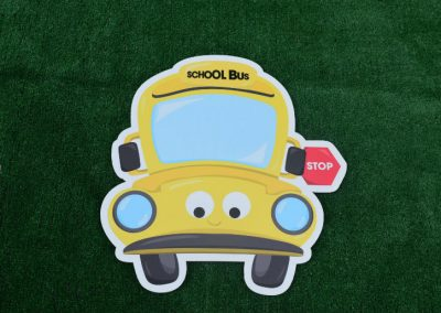 G-102 School Bus Yard Sign