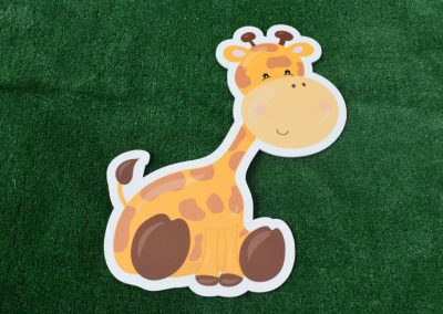 G-109 Giraffe Yard Sign