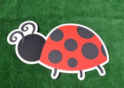 G-111 Lady Bug Yard Sign