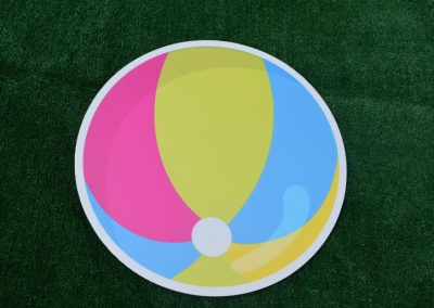 G-15 Summer Beach Ball Yard Sign