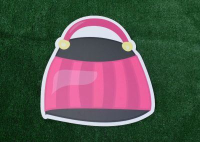 G-159 Pink Purse Birthday Yard Sign