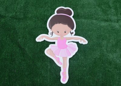 G-16 Ballet Dancer Yard Sign