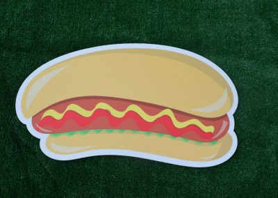 G-2 Hot Dog BBQ Yard Sign