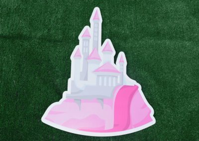 G-27 Princess Castle Birthday Yard Sign