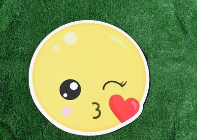 G- 278 Winking Heart Emoji