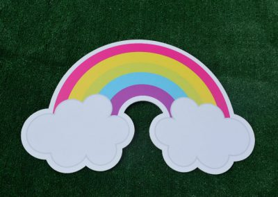 G-28 Rainbow Yard Sign