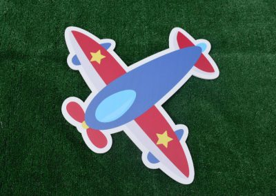 G-32 Airplane Boys Birthday Yard Sign
