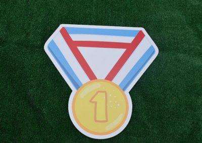 G-40 Medal Yard Sign