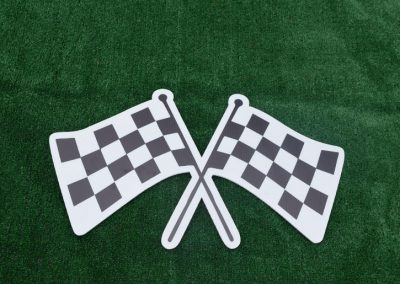 G-41 Racing Checkered Flags Yard Signs