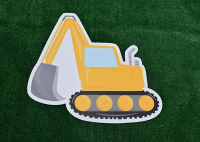 G-49 Construction Digger Yard Sign