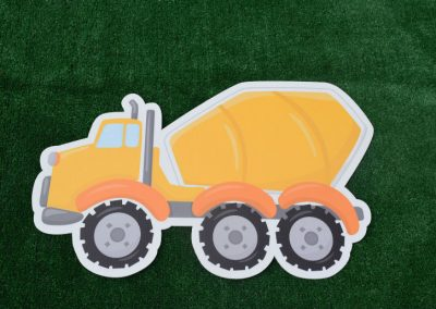 G-50 Cement Truck Contruction Vehicle Yard Sign