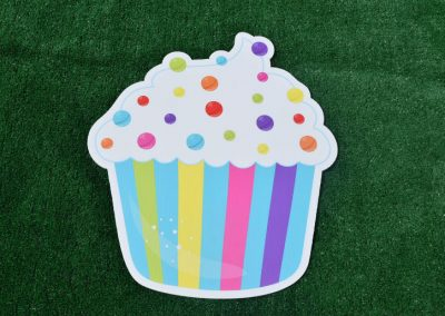 G-64 Sprinkles Cupcake Birthday Sign