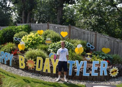 Fun Summer Birthday Yard Greeting