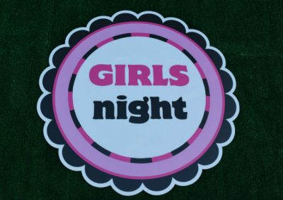 G-152 Girls Night Out Lawn Sign or Event Sign