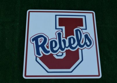 G-405 Juanita High School Rebels Lawn Sign