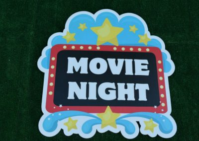 G-501 Movie Night Lawn or Special Event Sign