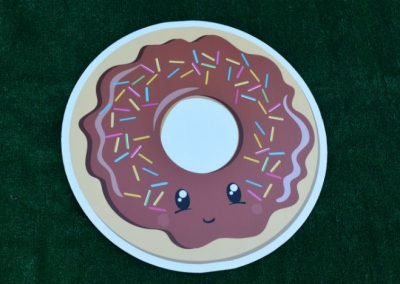 G-505 Chocolate Donut Yard Sign