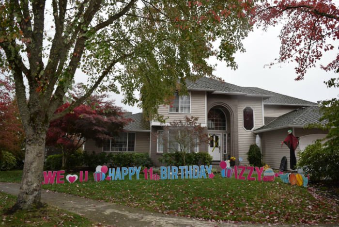 Yard Signs are the Perfect Way to Celebrate a Special Birthday!