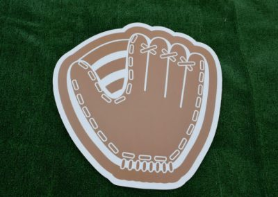 Baseball Glove Yard Sign G-641