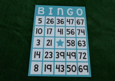 Bingo Card Yard Sign G-616