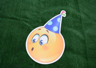 Birthday Emoji Yard Sign G-642