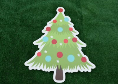 Christmas Tree Yard Sign G-620