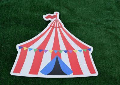 Circus Tent Carnival Yard Signs G-603