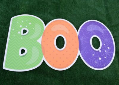 Halloween Large Boo Yard Sign G-629