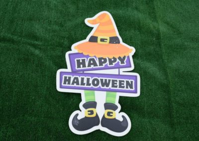 Happy Halloween Yard Sign G-627