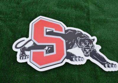 Panthers Mascot Yard Signs G650