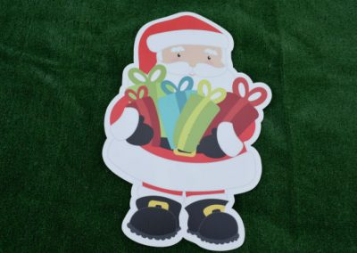 Santa Christmas Yard Sign G-624