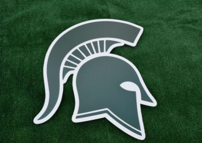 Skyline Spartans Mascot Yard Sign G-416