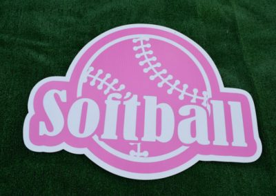 Softball Yard Sign G-640