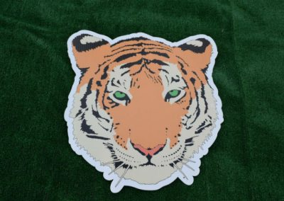 Tigers Mascot Yard Sign G-427