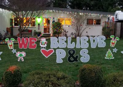 Elf on the Shelf Yard Signs Christmas
