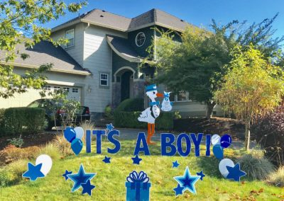 Its a Boy Stork Yard Sign