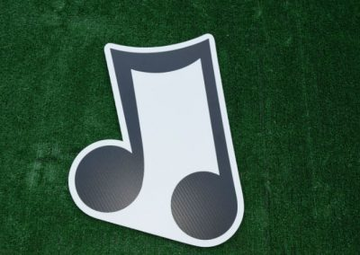 Music Notes Yard Signs