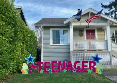 Teenager Birthday Yard Signs