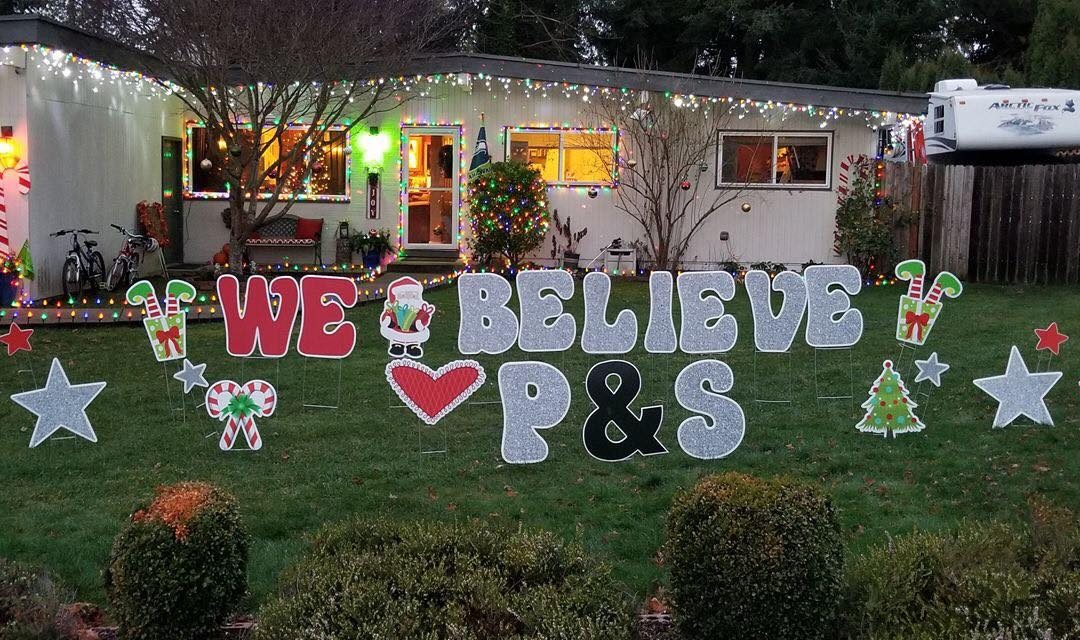 Our elves have been busy spreading cheer with our fun yard signs!