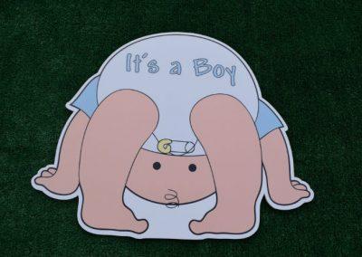 Its a Boy New Baby Yard Signs